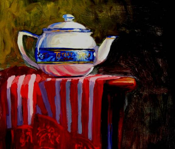tetleys- Still Life -  - Oil Painting by Dermot McKeown