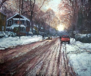 Forest Ave Winter