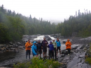 09-The Crew at Denison Falls