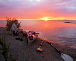 Denise Kayak sunset 2_thumb