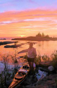 Denise Kayak sunset_thumb