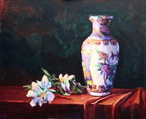 Urn and Blossoms